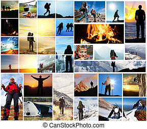 Hike - Hiking collage