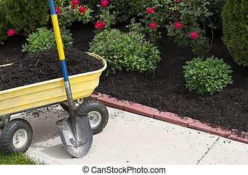 Time to Mulch - Its about that time to mulch around the...