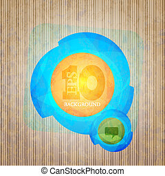 Vector creative abstract background. Eps 10 illustration