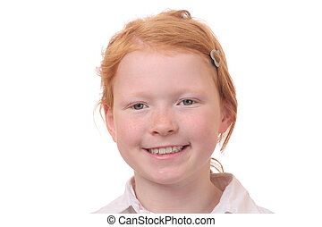 Redhaired girl