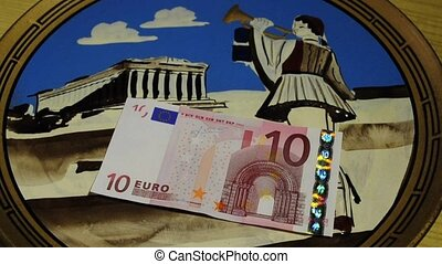 euro or greek drachma, crisis in Greek