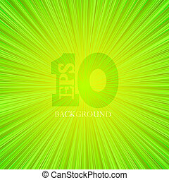Vector green abstract background. Eps10 illustration