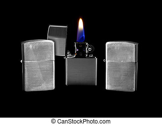 Petrol Lighter - Windproof Petrol Lighter which can also be...
