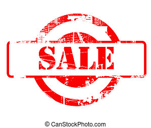 Sale red stamp