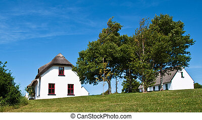 rural countryside cottage in europe - pretty rural...