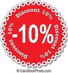 Discount Ten Percent
