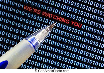 Surveillance Symbolism