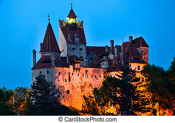 Bran Castle - Count Draculas Castle, Romania,the mythic...