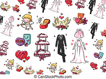 Wedding collection - Here are all the wedding needs things