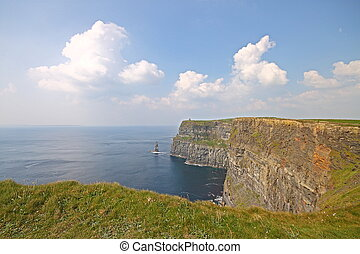 The Cliffs of Moher, Ireland - The Cliffs of Moher Ireland...