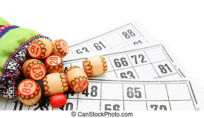 Lotto. On a white background.