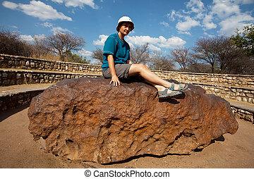 Meteorite - Hoba meteorite in Namibia