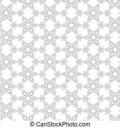 Delicate pattern in arabic style Vector background