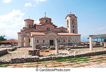 Church in Ohrid, Macedonia - Orthodox Church of St...