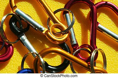 Carabiner - Colorful carabiners