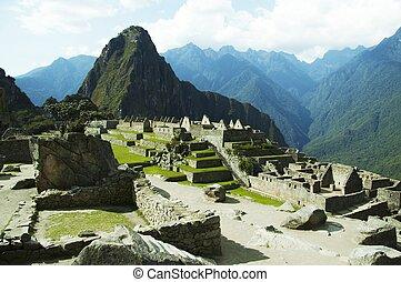 Machu-Picchu city - the city Machu-Picchu,Peru