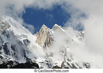 High Himalayan mountain - Himalayan mountain