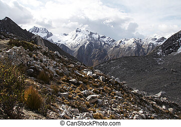 Cordilleras mountain - Snowcowered high cordillera mountain...