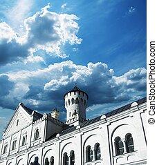 Neuschwanstein castle - Castle Neuschwanstein, Allgau,...