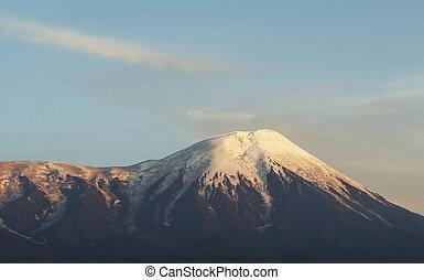 Mountain on Kamchatka - Volcano Tolbachik on Kamchatka