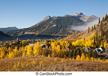 Golden Silverton - Autumn in Silverton, Colorado