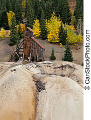 Old Colorado Gold Mine - Remnant of Colorados mining past
