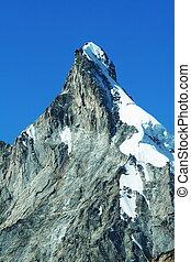 Mountain peak on Pamir