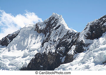 High Cordilleras mountain - Snowcovered high mountain...
