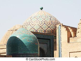 Bukhara - palace in Samarkand