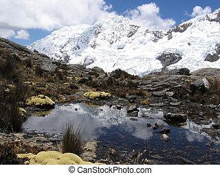 Beautiful lake in Cordilleras - Beautiful lake in...