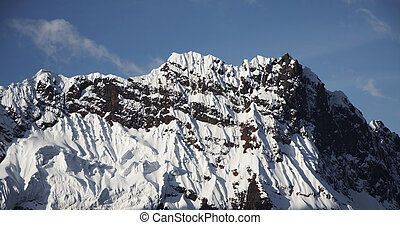 Cordilleras mountains_2 - Rock mountain In the...