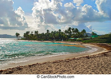 Palms Resort St. Croix, USVI - This beach leads to the...