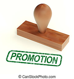 Promotion Stamp Showing Sale And Reductions
