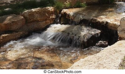Small stream Creek - Artificially created an oasis in the...