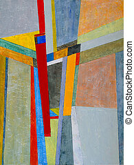 Aloft - an abstract painting