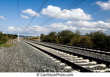 Railroad Tracks - Railroad tracks between Vitoria-Gasteiz...