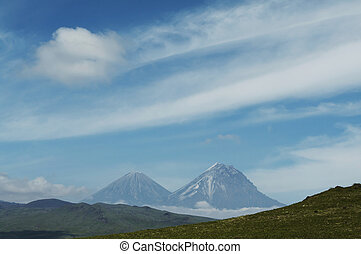 Volcano in Kamchatka - Volcano on Kamchatka