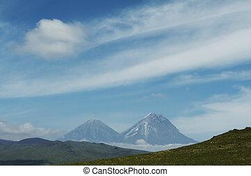 Volcano in Kamchatka - Volcano on Kamchatka