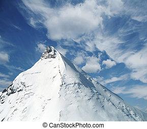 Volcano Kamen in Kamchatka - Volcano Kamen (Stone) in...