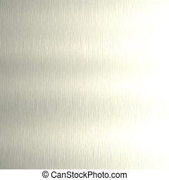 Brushed aluminum. Seamless texture.