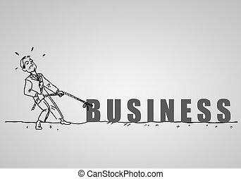 rajz, üzletember, irodalomtudomány