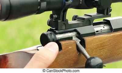 Sniper close up