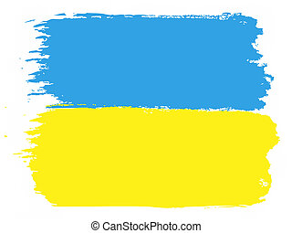 Flag of Ukraine, vector illustration