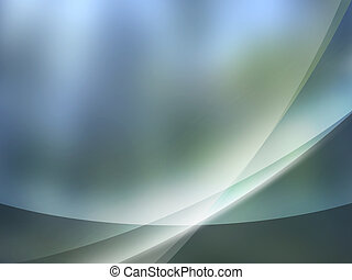 Gray Blue aurora background Aurorac - Abstract background...