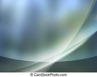 Gray Blue aurora background Aurorac - Abstract background...