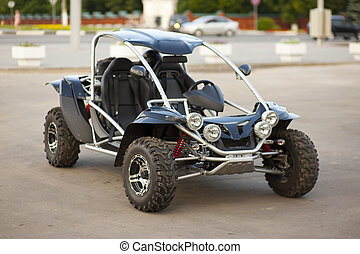 ATV car - ATV buggy car outdoor