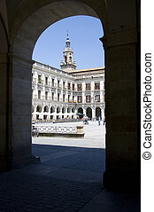 Plaza de Espaa, Vitoria-Gasteiz - The main square in...