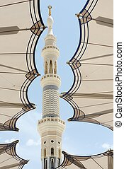al Madina mosque - Islamic Holy Place in high resolution of...