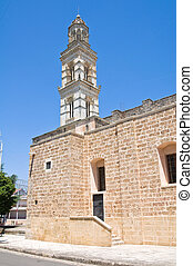 Church of Our Lady of the Assumption. Soleto. Puglia. Italy.