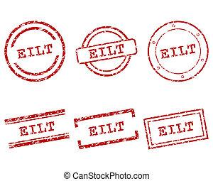 Eilt stamps